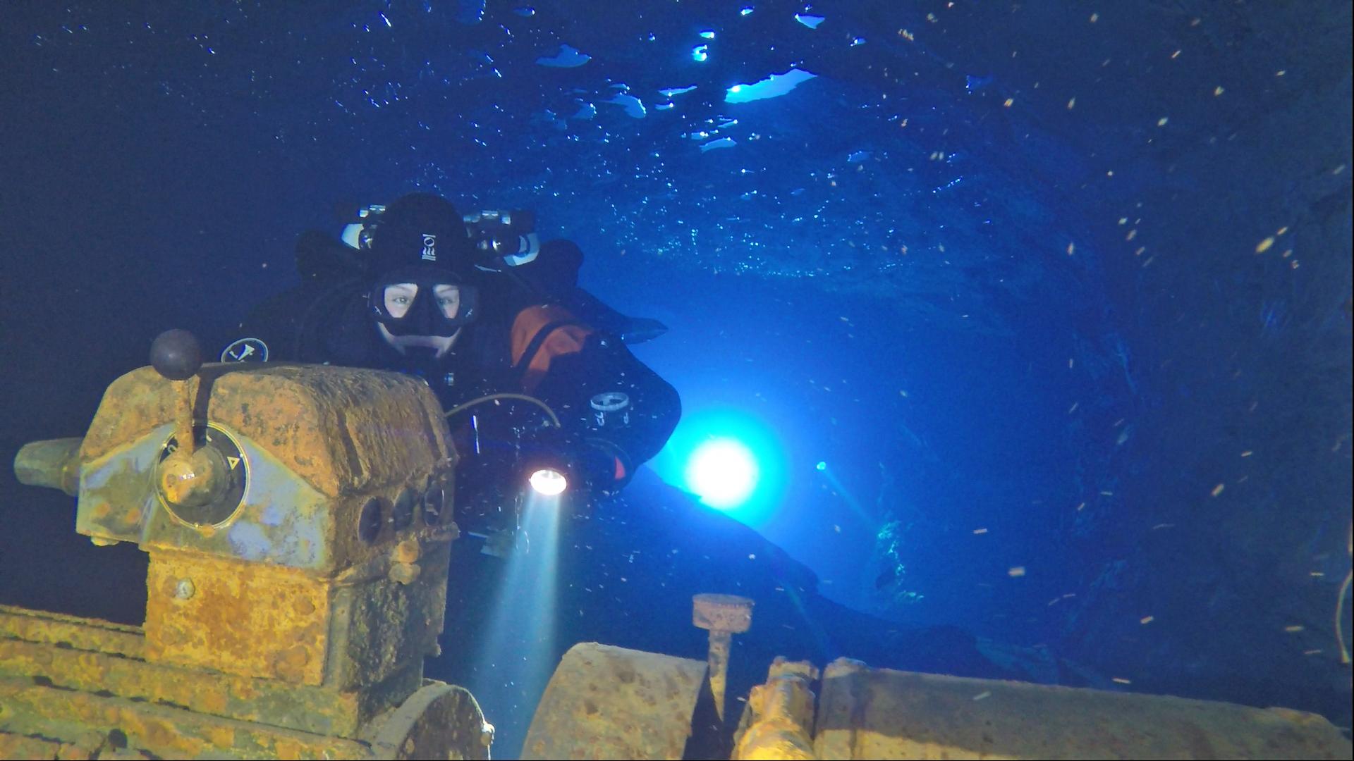 Mine Diver Kurs